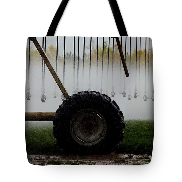 Water The Carrots Tote Bag
