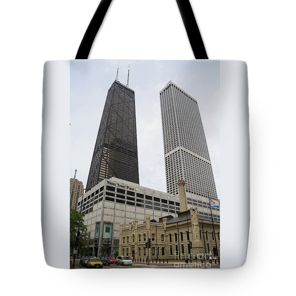 Water Tower Place And Company Tote Bag
