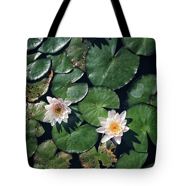 Tote Bag featuring the photograph Water Triad by Jason Roberts