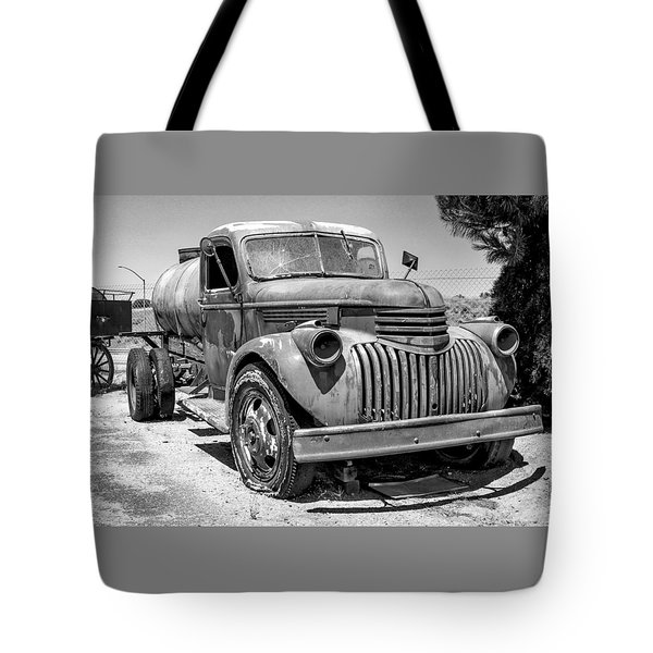 Water Truck - Chevrolet Tote Bag
