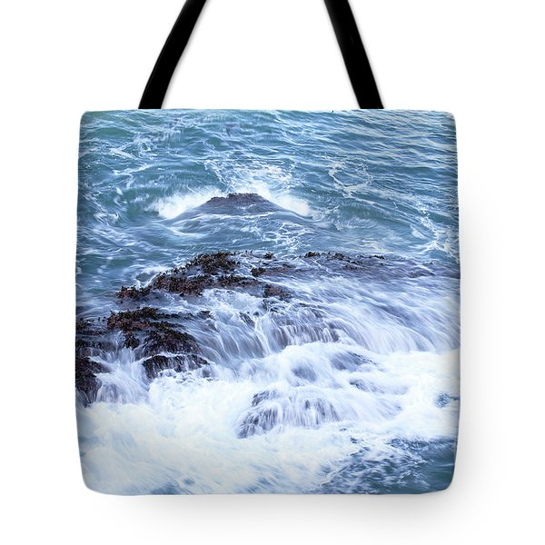 Tote Bag featuring the photograph Water Turmoil by Richard J Thompson