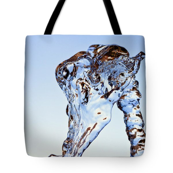 Tote Bag featuring the photograph Water V4 by Rico Besserdich