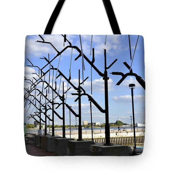 Water Vaporizer Tote Bag