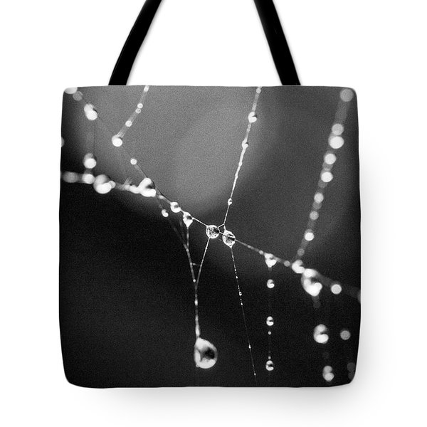 Tote Bag featuring the photograph Water Web by Darcy Michaelchuk
