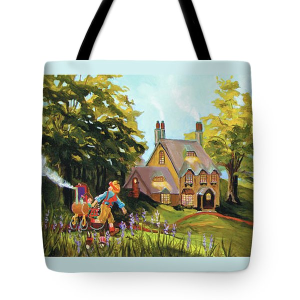 Water Wheel Tote Bag