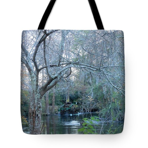 Water Wheel Tote Bag by Kay Gilley