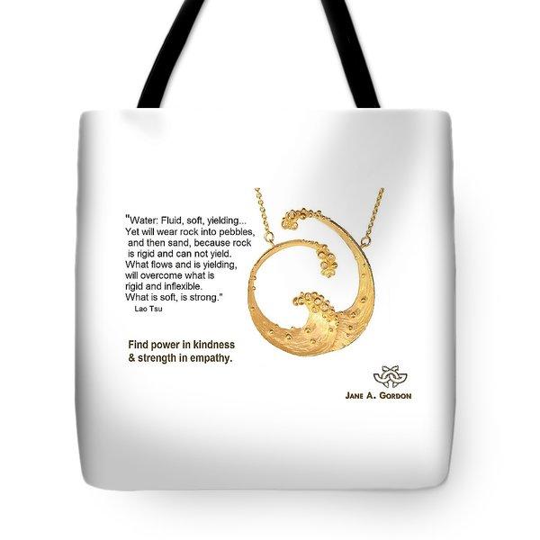 Water Wisdom Tote Bag