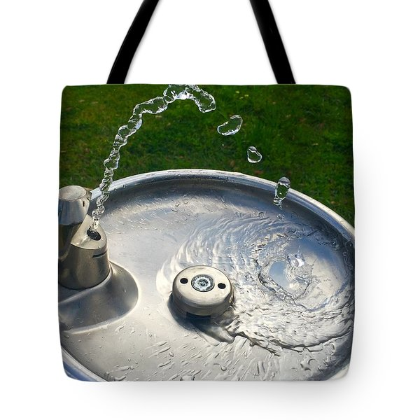 Water Works Tote Bag