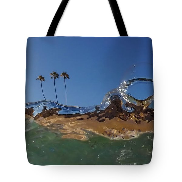 Water Works Tote Bag by Sean Foster
