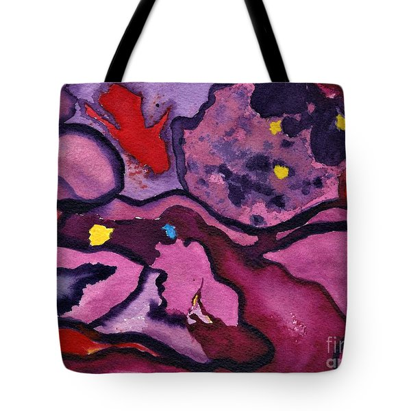 Watercolor Abstraction Tote Bag