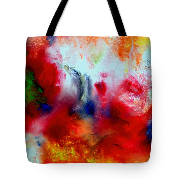 Watercolor Abstract Series G1015a Tote Bag