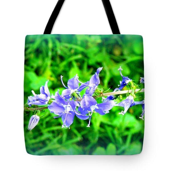 Watercolor Blooms Tote Bag