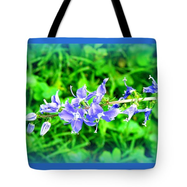 Watercolor Blooms Tote Bag