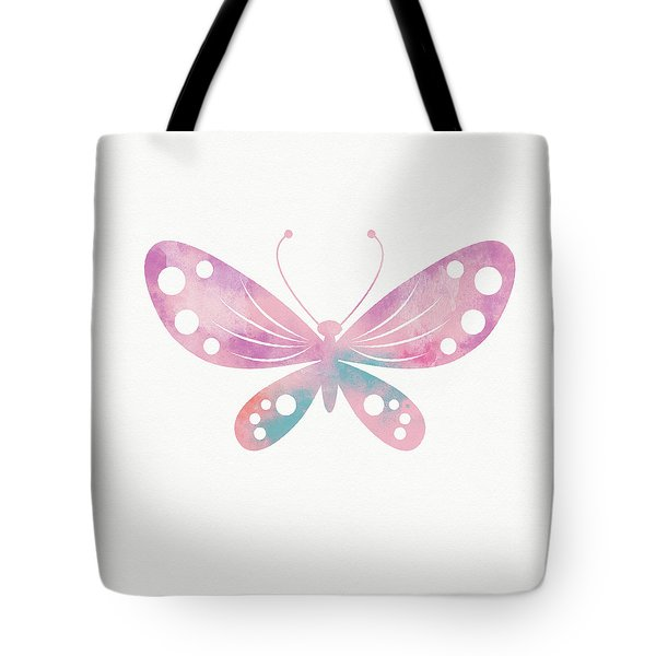 Watercolor Butterfly 1- Art By Linda Woods Tote Bag