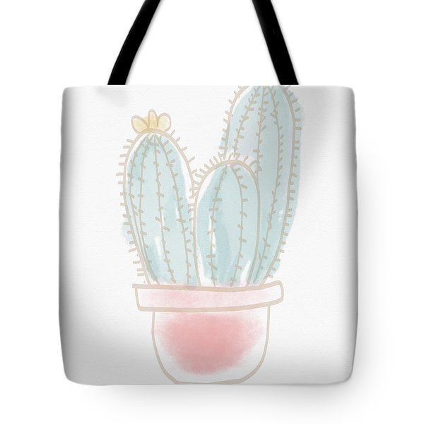 Watercolor Cactus- Art By Linda Woods Tote Bag