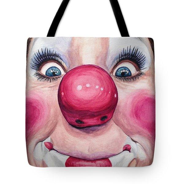 Watercolor Clown #23 Kerry Ringness Tote Bag