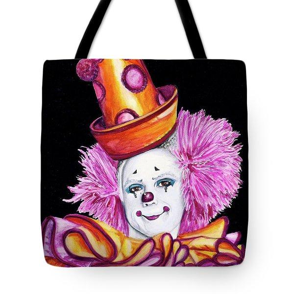Watercolor Clown #26 Victor Ruiz Tote Bag