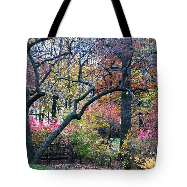 Tote Bag featuring the photograph Watercolor Forest by Lorraine Devon Wilke