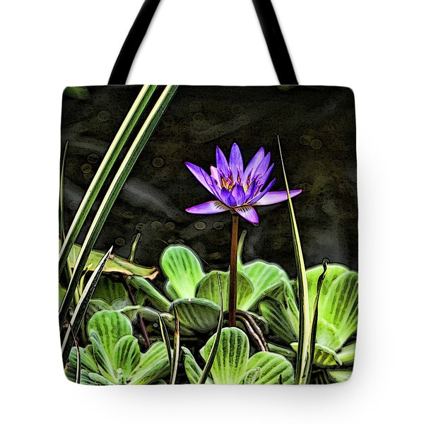 Watercolor Lily Tote Bag