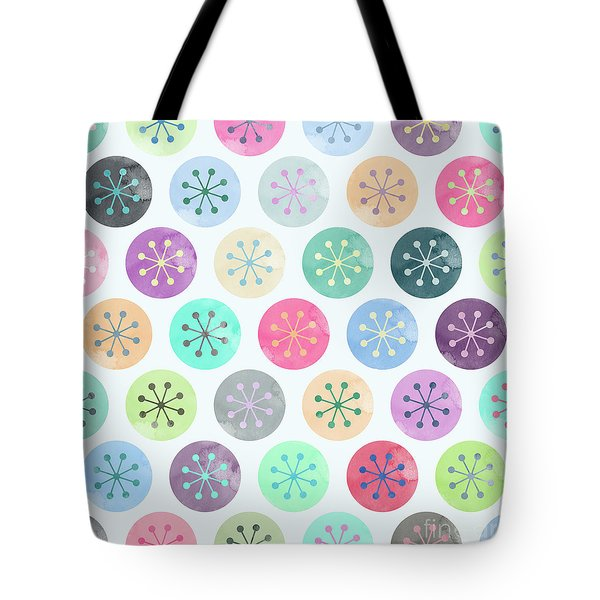 Watercolor Lovely Pattern Tote Bag