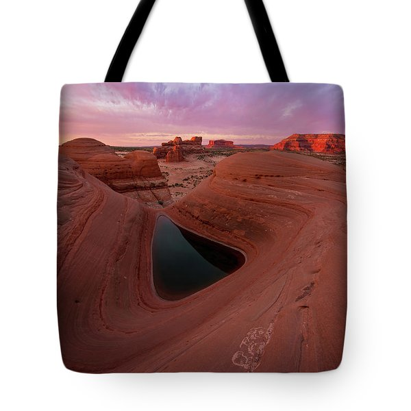 Watercolor Morning Tote Bag by Dustin LeFevre