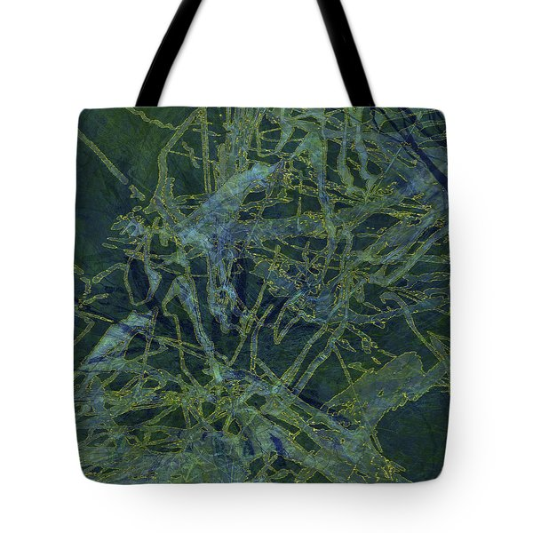 Edition 1 Watercolor Moss Tote Bag