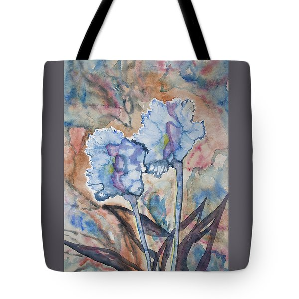 Watercolor - Orchid Impression Tote Bag