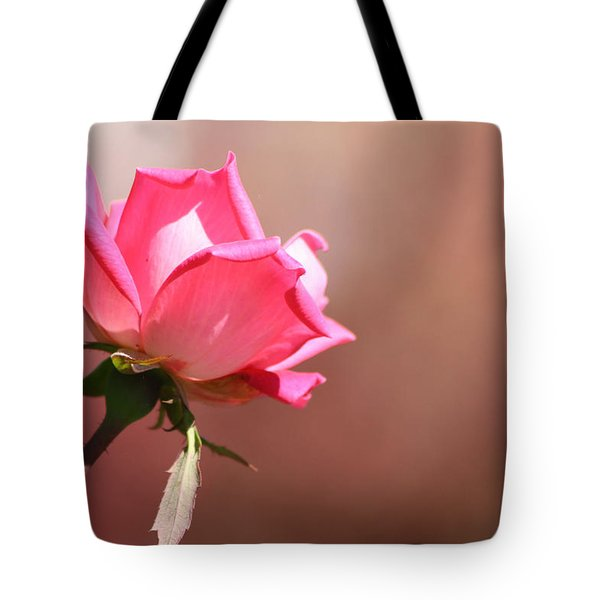 Watercolor Rose Tote Bag by Michele Wilson