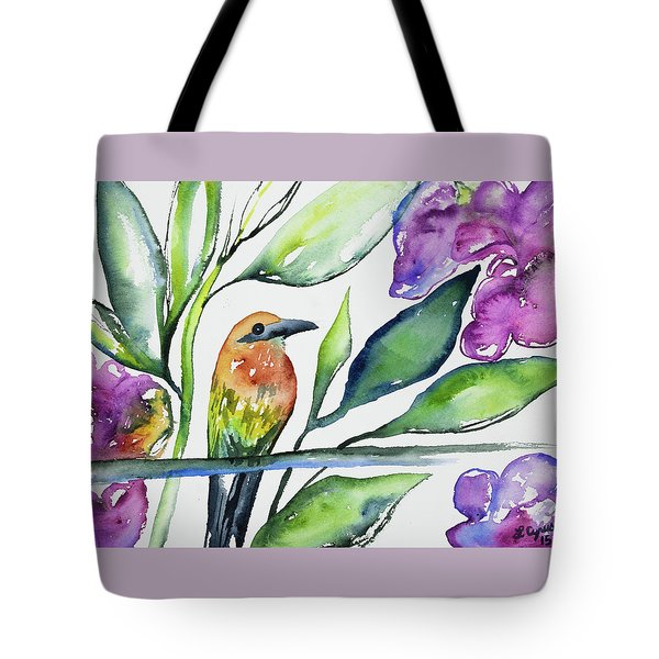 Watercolor - Rufous Motmot Tote Bag