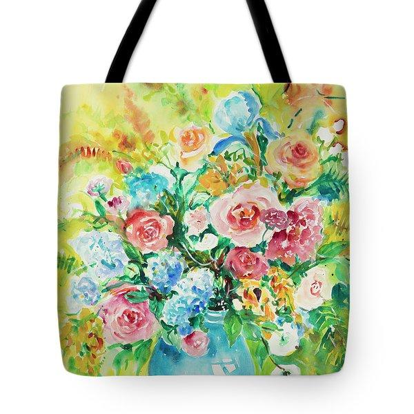 Watercolor Series 120 Tote Bag