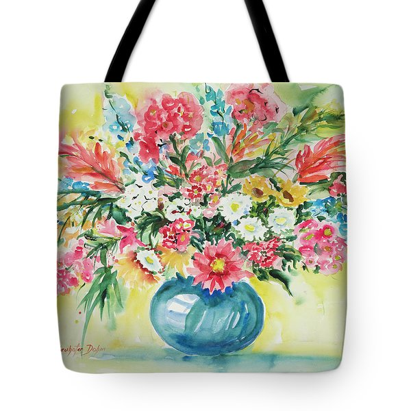 Watercolor Series 58 Tote Bag