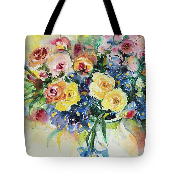 Watercolor Series 62 Tote Bag