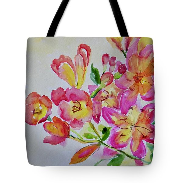 Watercolor Series No. 225 Tote Bag