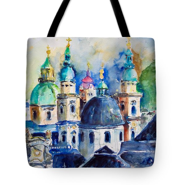 Watercolor Series No. 247 Tote Bag