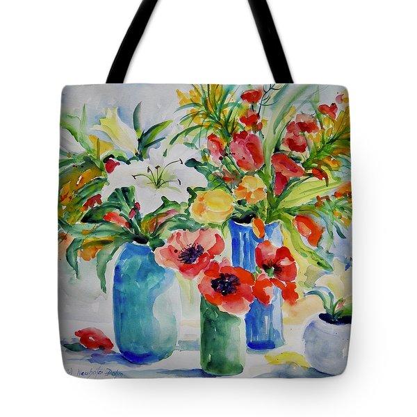 Watercolor Series No. 256 Tote Bag