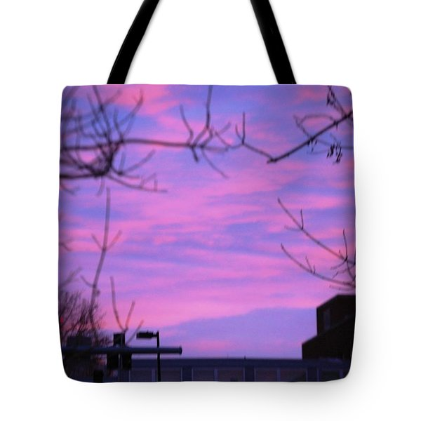 Watercolor Sky Tote Bag by Sumoflam Photography