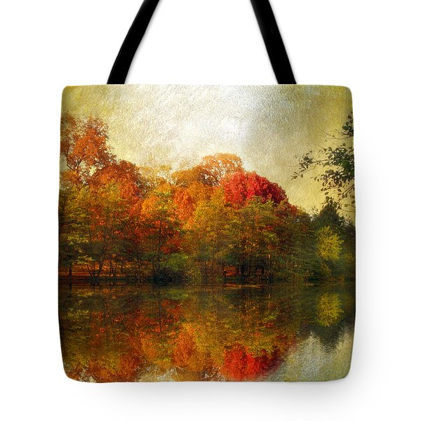 Watercolor Sunset Tote Bag by Jessica Jenney