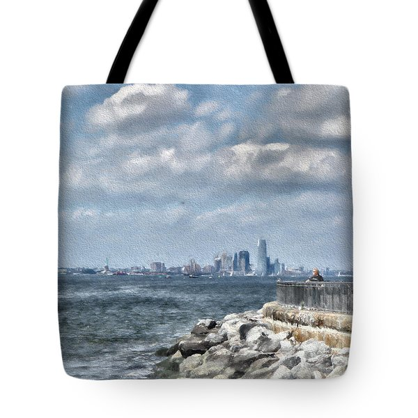 Watercolor Views Tote Bag