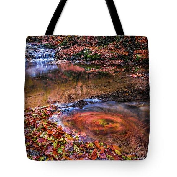 Waterfall-4 Tote Bag