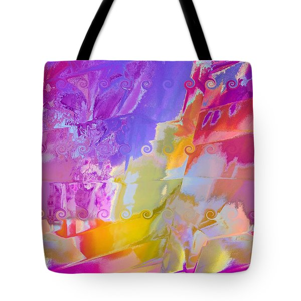 Waterfall Tote Bag by Alika Kumar