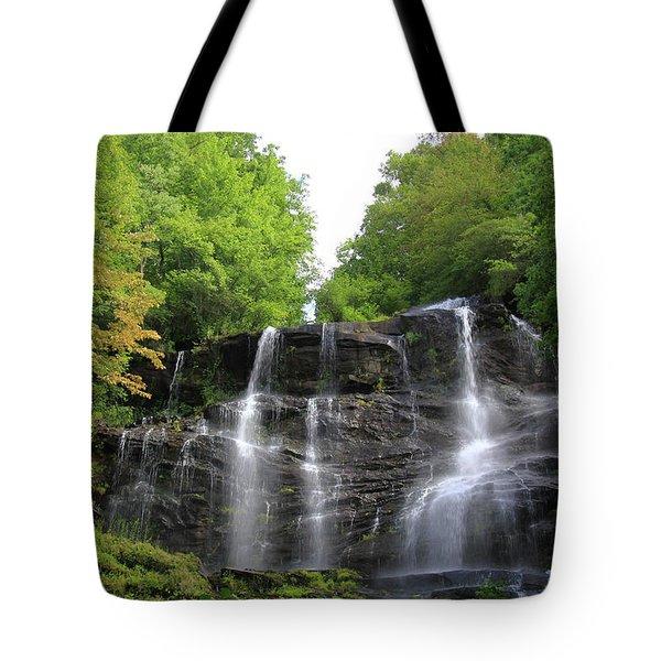 Waterfall - Amicalola Falls, Georgia, Usa Tote Bag
