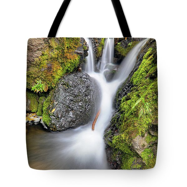 Waterfall Atop Wolf Creek Pass - Colorado - Nature Tote Bag by Jason Politte