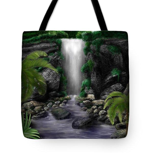 Waterfall Creek Tote Bag