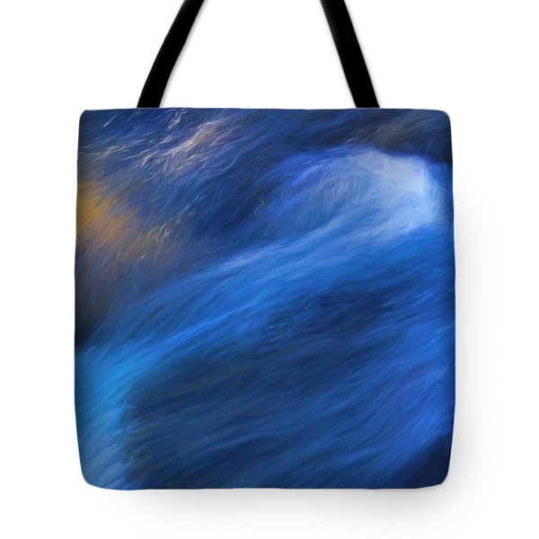 Waterfall Detail Tote Bag by Clare VanderVeen