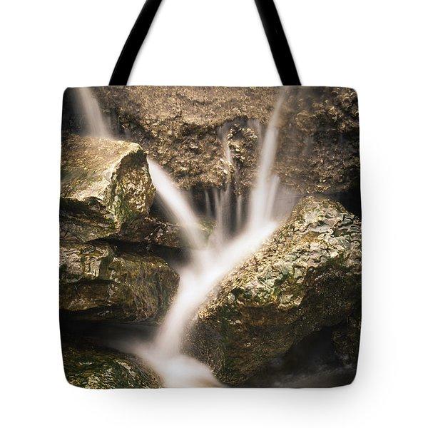 Waterfall Detail  Tote Bag by Scott Meyer