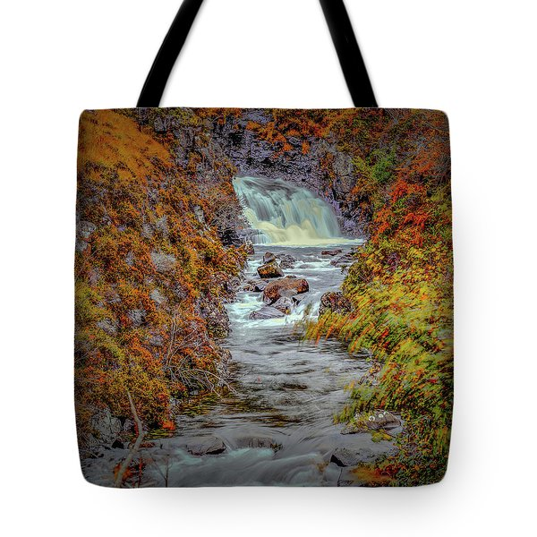 Waterfall #g8 Tote Bag