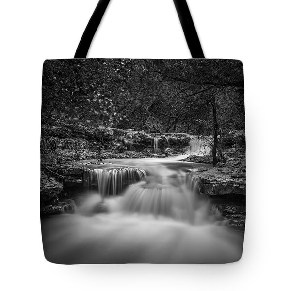 Waterfall In Austin Texas - Square Tote Bag