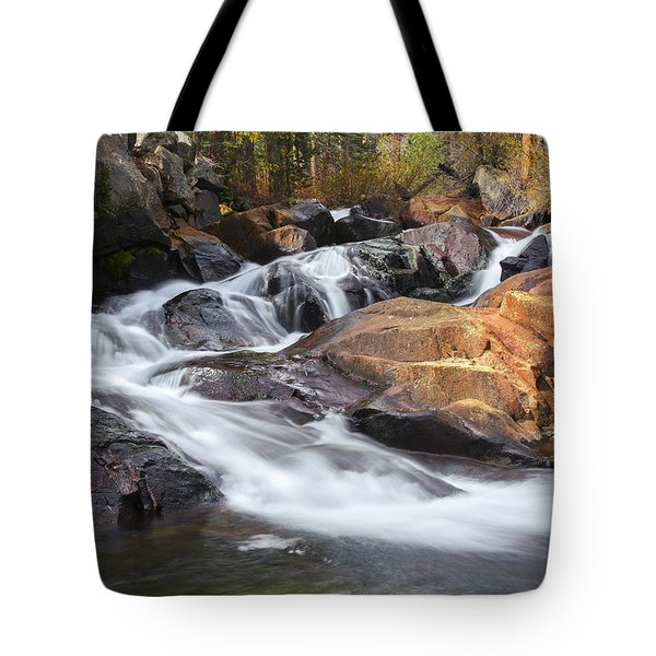 Waterfall In Lee Vining Canyon 2 Tote Bag