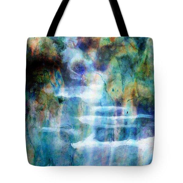 Waterfall Tote Bag by Kathie Miller