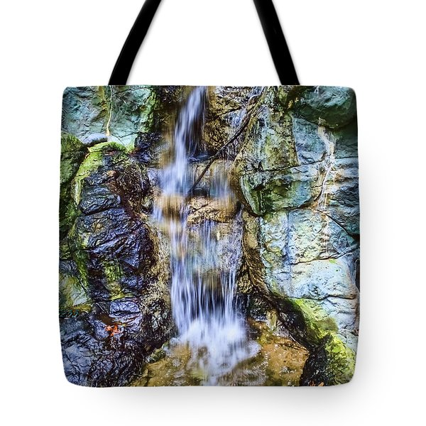 Tote Bag featuring the photograph Waterfall by Melissa Messick